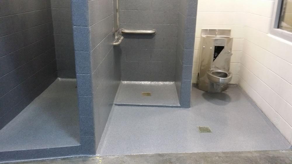 Seamless Shower Jail Showers Commercial Shower Shower