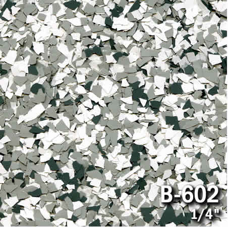 b602a flake resin flooring material colors - colored resin flakes