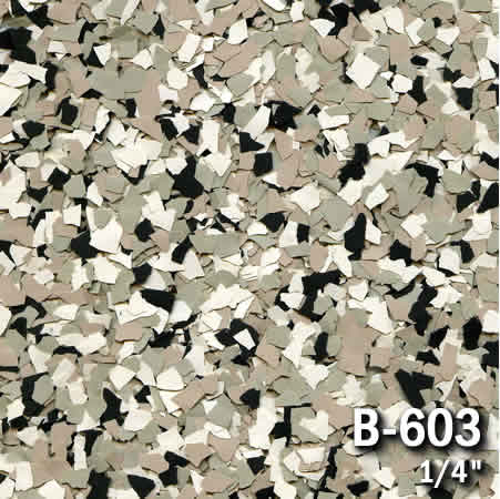 b603a flake resin flooring material colors - colored resin flakes