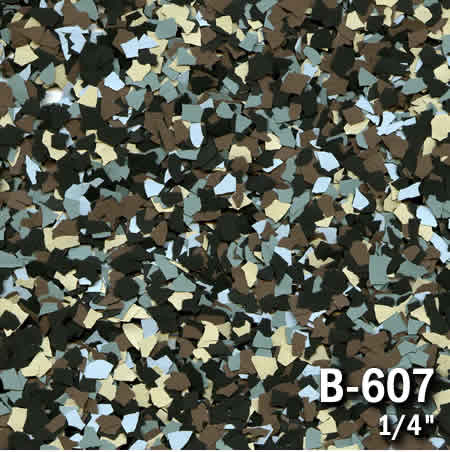 b607a flake resin flooring material colors - colored resin flakes