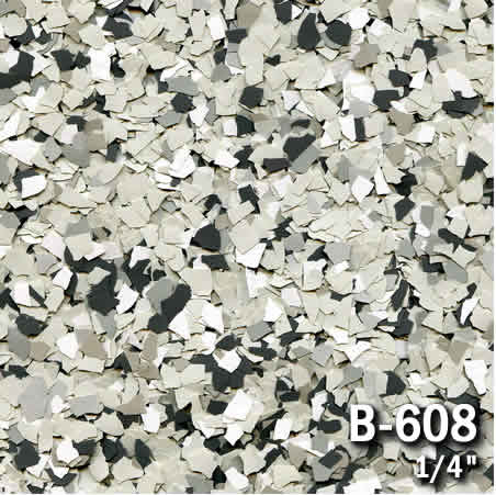 b608a flake resin flooring material colors - colored resin flakes