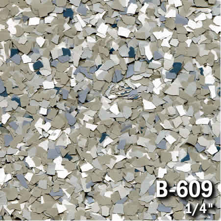 b609a flake resin flooring material colors - colored resin flakes
