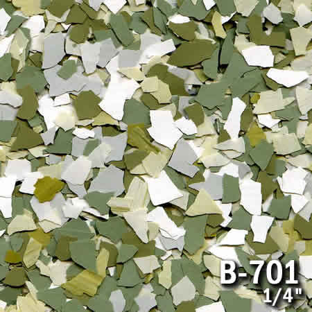b701a flake resin flooring material colors - colored resin flakes