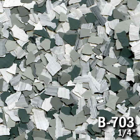 b703a flake resin flooring material colors - colored resin flakes