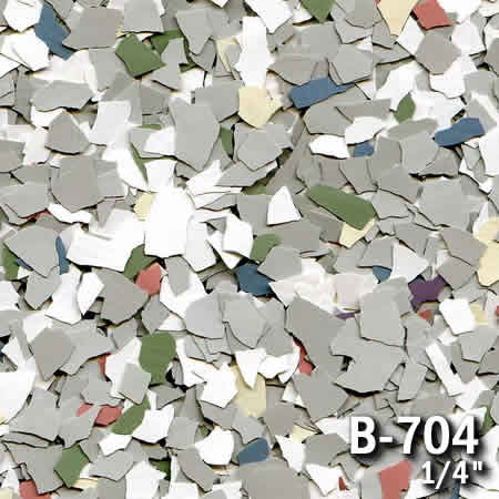 b704a flake resin flooring material colors - colored resin flakes