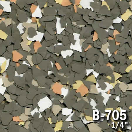 b705a flake resin flooring material colors - colored resin flakes
