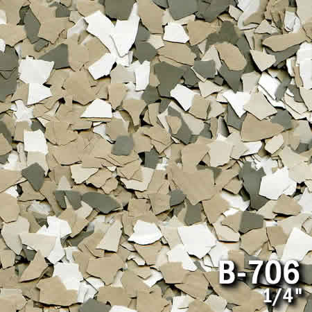 b706a flake resin flooring material colors - colored resin flakes