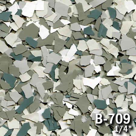 b709a flake resin flooring material colors - colored resin flakes