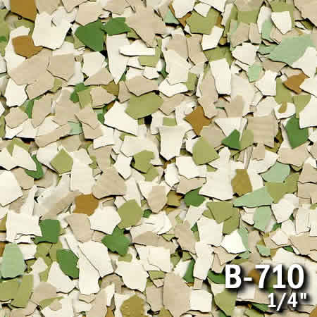 b710a flake resin flooring material colors - colored resin flakes