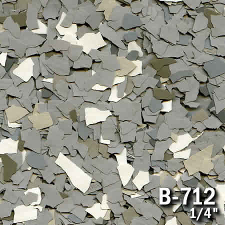 b712a flake resin flooring material colors - colored resin flakes