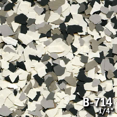 b714a flake resin flooring material colors - colored resin flakes