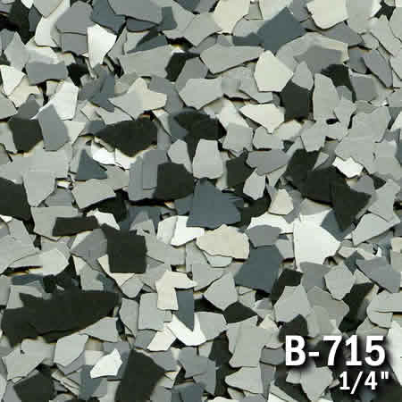 b715a flake resin flooring material colors - colored resin flakes