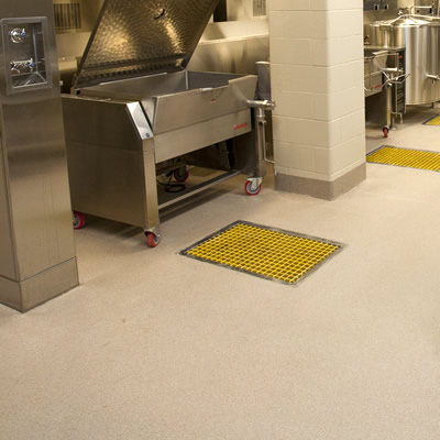 Decofloor Quartz Broadcast Aggregate Flooring System - Similar to Epoxy flooring